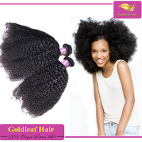 Free shipping fast deal Most fashion afro kinky curly human hair weave perfect length group