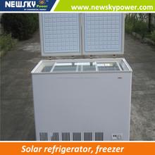 made in china power upright freezer solar freezer