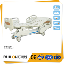RC-001-30000 Hot Sale Five Function Electric Hospital ICU Bed for sale