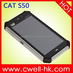 CAT S50 8GB Black, 4.7 inch Android 4.4 (Waterproof + Dustproof + Shockproof) Smart Phone GSM 3G WCDMA 4G Lte