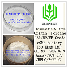Pharmaceutical Products Chondroitin Sulfate Porcine 90% 95% 98% USP Grade