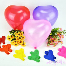 cheap heart shape balloon decoration from balloon supplier