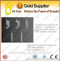 stainless-steel/steel iron/stainless alloy bending dies