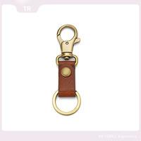 Leather key chain retractable key chain cheap key chains