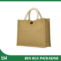 2014 Popular Design Shopping Personalized Jute Bag