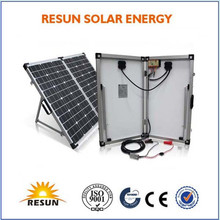 High quality 120w portable folding solar panel from manufacturers in china
