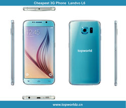 Support OEM Smartphone 5.0 inch Landvo L6 Android 4.2 MTK6572 Dual Core 512 MB 4GB QHD screen