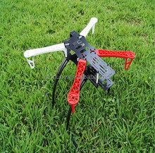 2015 Promotion !!! HH abnormity four axis aircraft frame, surpass MF-YX locusts, fiberglass center version, Red with black speci