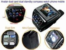 ET-2 1.33'' Touch Screen Wrist Watch Mobile phone