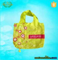 210d polyester folding shopping bag