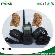 New arrive!!! 100L LCD Shock+ vibra remote no bark pet dog training collar 1000M