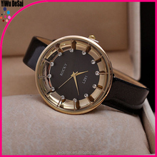 Simple watch The new contracted fashion ladies watch Diamond bright skin female table Quartz watch