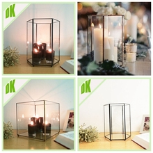 new products 2016 for hallowee christmas & wedding decorations / favors /souvenirs glass crystal vases for wedding centerpieces