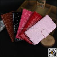 Genuine leather crocodile skin mobile phone case for iphone 6s, flip leather for iphone 6s cover