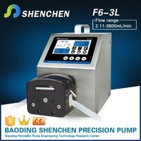 Peristaltic analysis pump for industrial,hand operated digital pump for e-liquid,adjustable speed handling pump for water