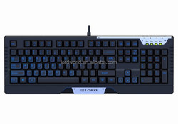 Factory price endurance hot selling Professional Laser Carving BacklitGaming Mechanical Keyboard
