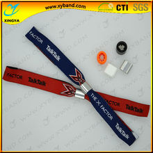 New style custom adjustable woven party wristband