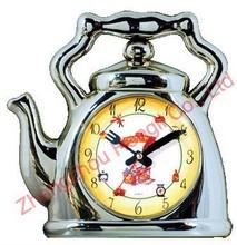 Plastic 10 inch teapot Wall Clock