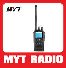 NEW! Digital dpmr walkie talkie UHF VHF with sending message function 256 channels