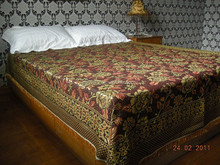 2014 customised designs thread bedsheet and bedspread