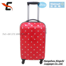 HOT SALE! Circle dot print PC luggage set/ trolley luggage