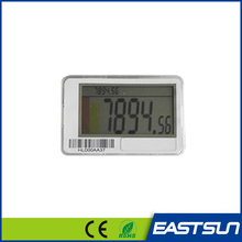 25m Communication distance lcd ABS shelf electronic label