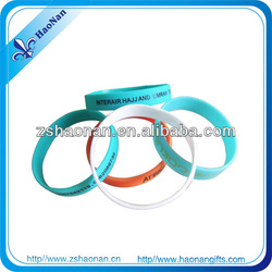 2014Factory direct fashionable economical and practical Silicone Wristbands for Christmas party