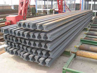 12kg light steel rail for brick factory