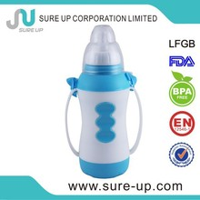 BPA Free Hot product for baby plastic vacuum flask thermos (FGUL003)