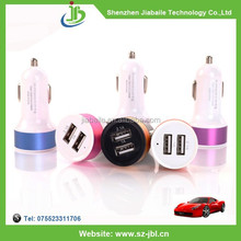 2015 hot selling mobile phone accessory wholesale dual usb universal car charger