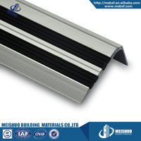 Residential building noskid rubber filers modern laminted best stair treads
