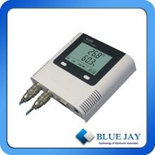 Chemical in lab temperature sensor with adjustable temperature unit
