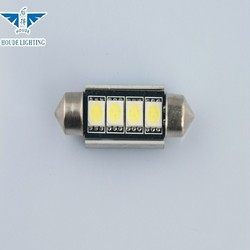 HOUDE c5w Festoon 4 LED SMD 5050 Canbus auto led light