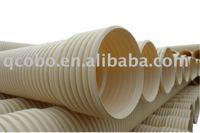 PVC-U double wall corrugated pipe