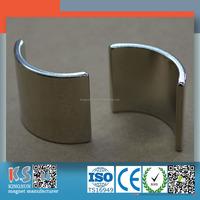 Industrial Strong Permanent N52 Neodymium Motor Magnet