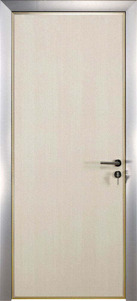 solid core aluminium flush door