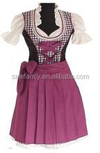 Bavarian German Trachten Oktoberfest Dirndl Dress QAWC-3102