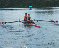 Double Skiff/Carbon Boat/rowing boat scull