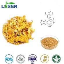 100% natural de calidad superior de extracto de globeflower orientin flavona y