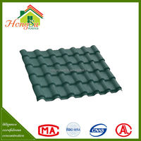 Competitive price ASA Sound and heat insulation green spanish roof tile
