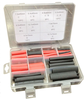 Silicon Rubber Heat Shrinkable Sleeve Kit 106PC Assorted UL & CSA Certification Silicon Rubber Heat Shrinkable Sleeve