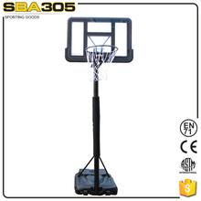 heavy duty adjustable basketball stand with breakaway rim