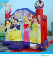 PRINCESS inflatable bounce house,inflatable jumper for kids,commercial used inflatable bouncy castle