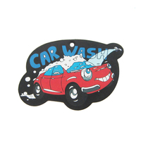 Custom Logo printing paper car air freshener with car shape