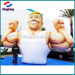 NB-CT4020 Ningbang vivid giant inflatable muscle man for sale