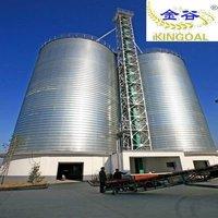 Grain silo 1500T grain bin sheets supplier