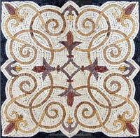 handmade marble mosaic accent