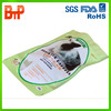 bottom gusset plastic pet food bag with resealable zipper