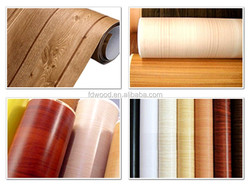 Different Wood Grain Designs of Decorative Laminated Paper