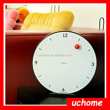 Uchome Creative Time Flying Clock Time Flying Clock Magnet ball Wall Clock